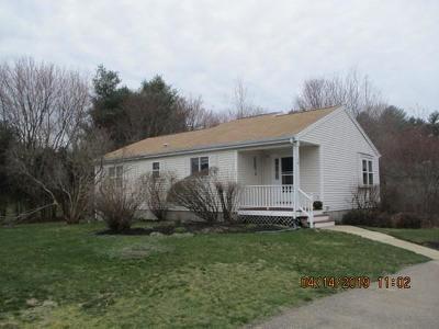East Bridgewater Condo/Townhouse For Sale: 58 Brookbend Way E #58