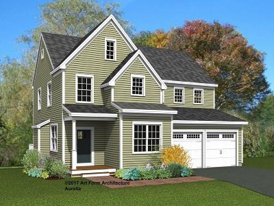 Concord Single Family Home New: Lot 21 Black Horse Place #21