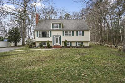 Norwell MA Single Family Home For Sale: $650,000