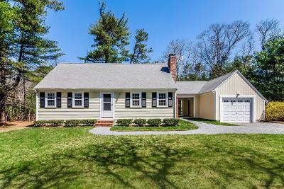 Falmouth Single Family Home For Sale: 140 Red Brook Road