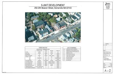 Somerville Residential Lots & Land For Sale: 294 Beacon Street
