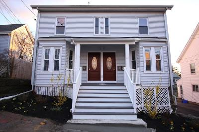 Quincy Multi Family Home Under Agreement: 21-23 Westford