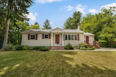 Holliston Single Family Home Contingent: 54 Turner Rd