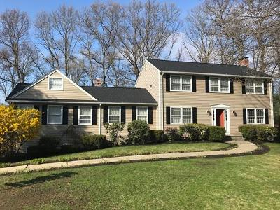 Waltham Single Family Home For Sale: 156 Candlewood Drive