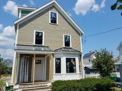 Newton Single Family Home For Sale: 243 California #1