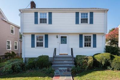 Milton Single Family Home For Sale: 125 Thacher St