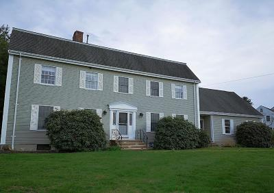 Wayland Single Family Home For Sale: 261 Old Connecticut Path