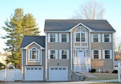 Stoneham MA Single Family Home For Sale: $909,000