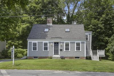 Cohasset Single Family Home Contingent: 35 Smith Pl