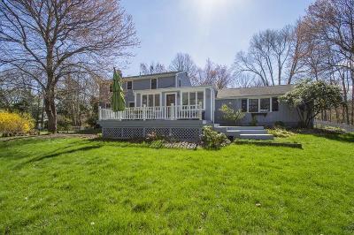 Scituate Single Family Home For Sale: 386 Tilden Rd