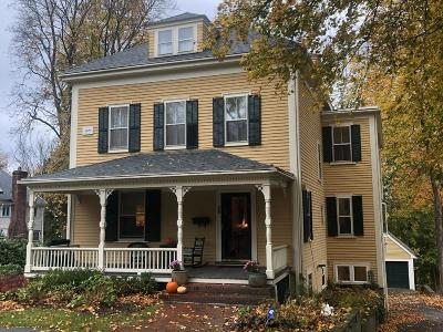 Wellesley Single Family Home For Sale: 28 Longfellow Rd