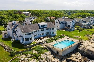 Cohasset MA Single Family Home For Sale: $8,750,000