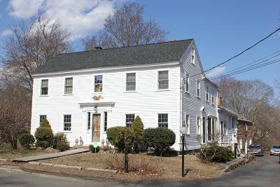 Danvers Single Family Home Under Agreement: 91 Dayton St