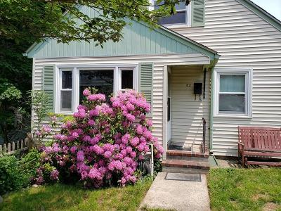 Single Family Home For Sale: 52 Montvale St