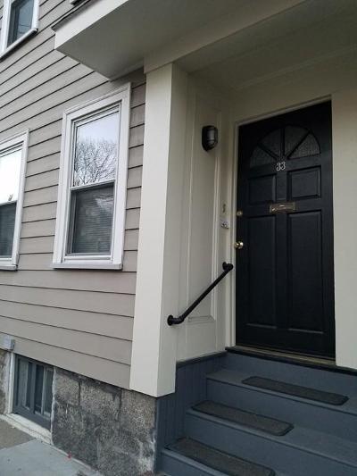 Cambridge Single Family Home For Sale: 33 Sixth Street #33