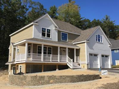 Norwell Single Family Home Contingent: Lot 5 Hillcrest Circle