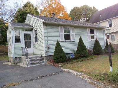 Woburn Single Family Home Contingent: 33 Willow Street