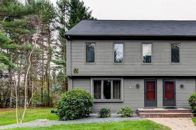 Norton MA Condo/Townhouse For Sale: $249,000