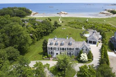 Cohasset MA Single Family Home For Sale: $7,200,000