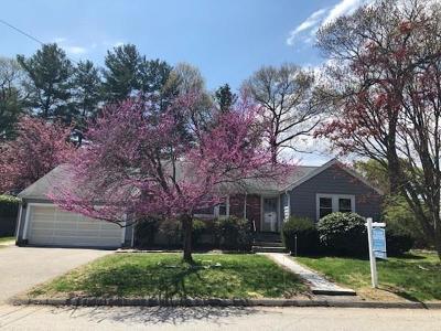 Arlington MA Single Family Home For Sale: $839,000