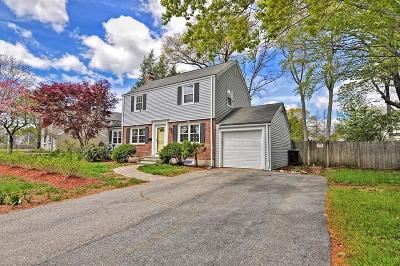 Natick Single Family Home For Sale: 6 Robinhood Road