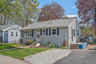 Quincy Single Family Home For Sale: 25 Bowes Ave