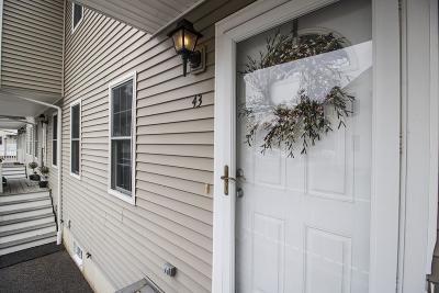 Middleboro Condo/Townhouse For Sale: 43 Pineridge Way #43