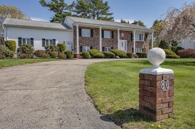 Taunton Single Family Home For Sale: 80 Steve Dr