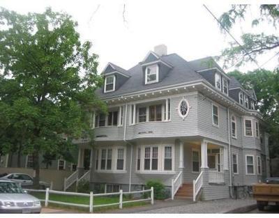 Cambridge Rental For Rent: 52 Irving Street #8