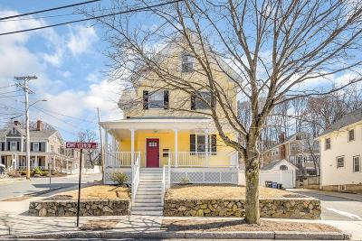 Melrose Single Family Home Under Agreement: 145 Mount Vernon Ave