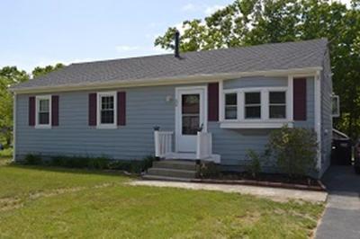 Wareham Single Family Home For Sale: 52 Mayflower Ln