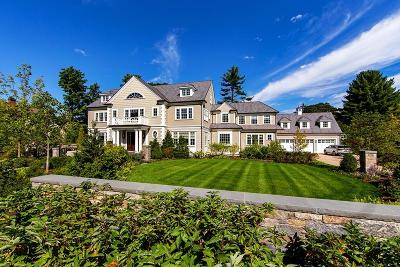 Brookline MA Single Family Home For Sale: $8,995,000