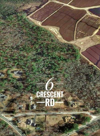 Carver Residential Lots & Land For Sale: 6 Crescent Rd