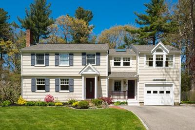 Hingham Single Family Home For Sale: 11 Plymouth River Rd