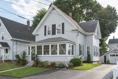 Whitman Single Family Home Contingent: 21 Laurel Street