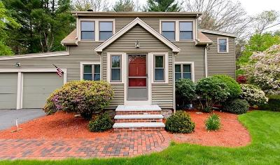 Foxboro Single Family Home For Sale: 152 Mechanic St