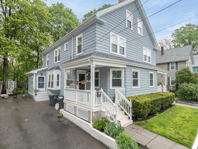 Dedham Single Family Home For Sale: 83 Clark St #83