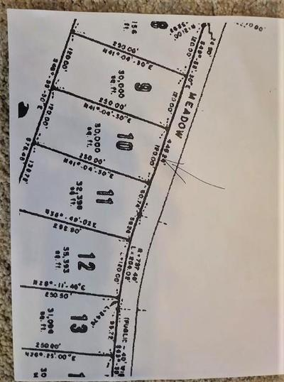 Residential Lots & Land Under Agreement: Rocky Meadow