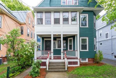 Somerville Condo/Townhouse For Sale: 79 Josephine Avenue #1