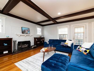 Brookline Single Family Home New: 73 Winthrop Rd #One