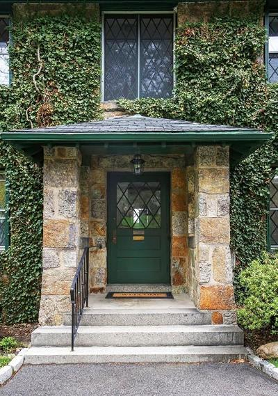 Brookline Single Family Home New: 104 Buckminster Rd #104