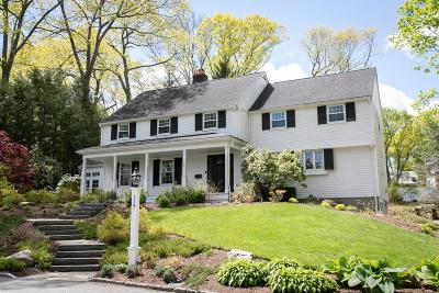 Wellesley Single Family Home For Sale: 117 Forest Street