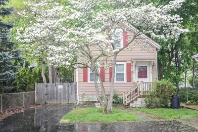 Boston Single Family Home New: 9 1/2 Rutledge Street