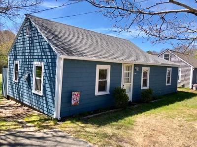 Eastham Single Family Home For Sale: 495 Campground Rd