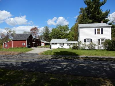 West Brookfield Single Family Home Under Agreement: 15 Wickaboag Valley Rd