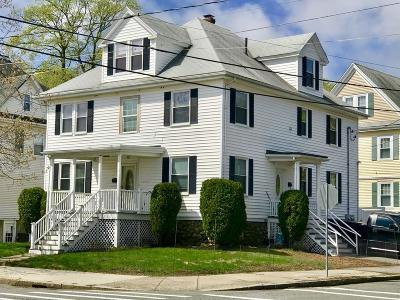 Stoneham MA Multi Family Home For Sale: $849,900
