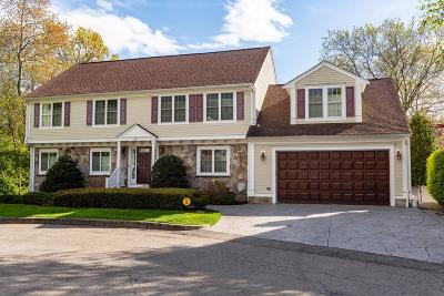 Needham Single Family Home For Sale: 19 Jennifer Circle