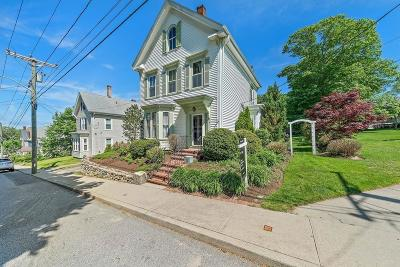 Plymouth Single Family Home For Sale: 16 Vernon St