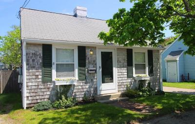 Hull Single Family Home For Sale: 154 Samoset #1