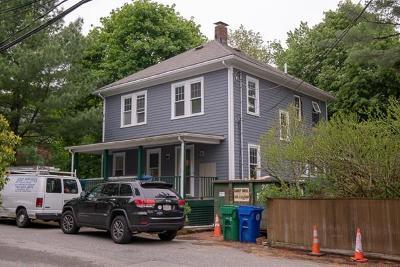 Newton Single Family Home For Sale: 25 Glenland Rd